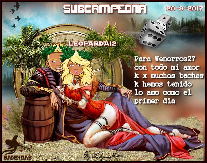 26-8-2017 CAMPEONA MIRIAMM3 - SUBCAMPEONA LEOPARDA12 - FINALISTA TEREZAS378 26-8-s10
