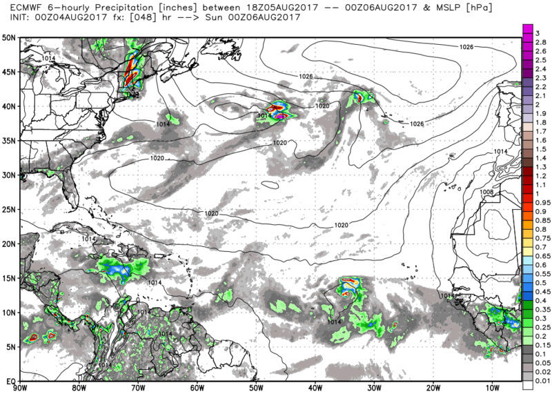2017 General Tropical Cyclone Discussion Thread - Page 4 Ecmwf_13