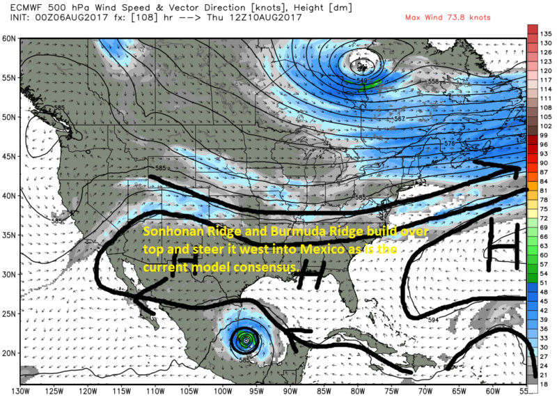 2017 General Tropical Cyclone Discussion Thread - Page 5 Ecmwf_18