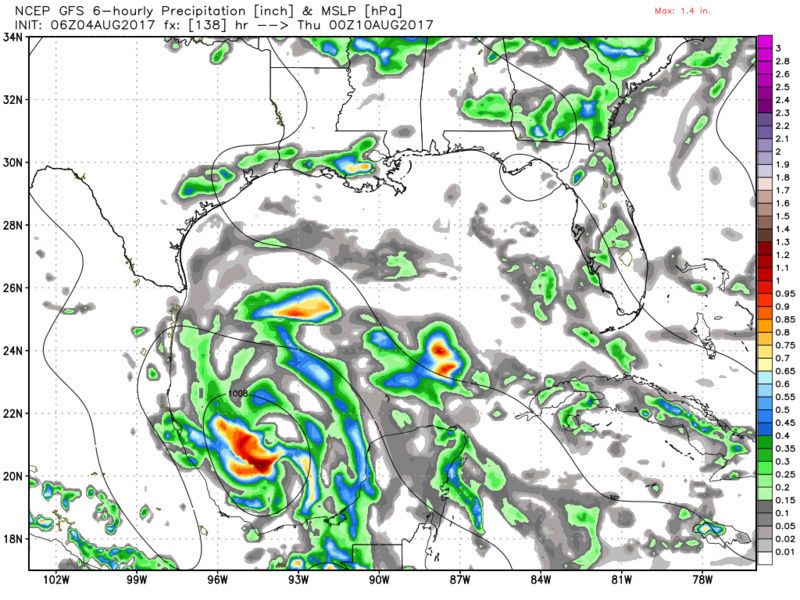 2017 General Tropical Cyclone Discussion Thread - Page 4 Gfs_sl10
