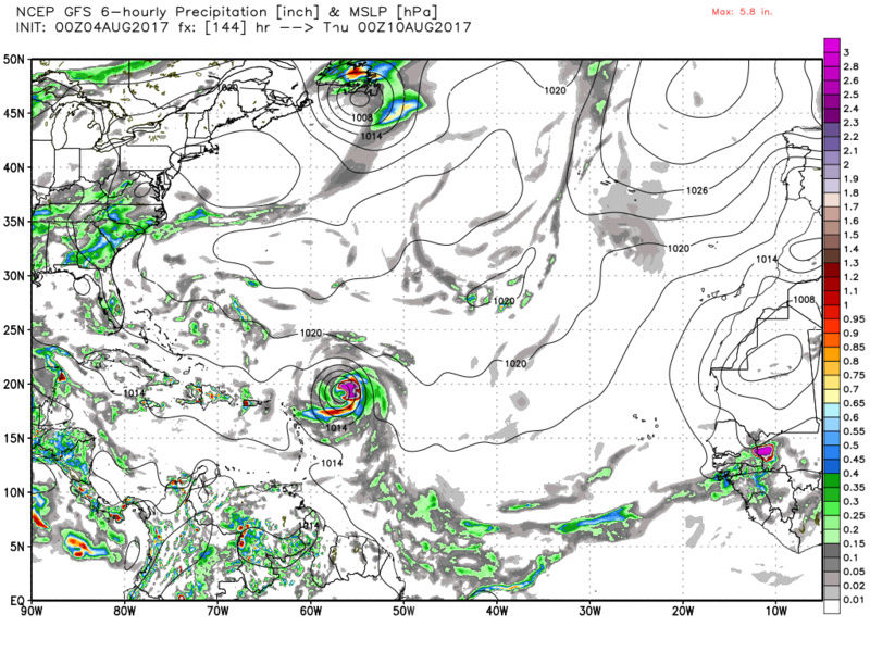 2017 General Tropical Cyclone Discussion Thread - Page 4 Gfs_sl13