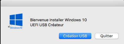 Création USB Windows 10 UEFI dans macOS - Page 2 Captu122