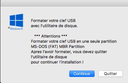 Création USB Windows 10 UEFI dans macOS - Page 2 Captu123