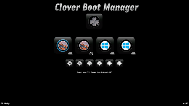 Résolution non optimale au boot de Clover sur 4530s Screen21