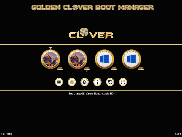 Theme Gold_clover Screen29