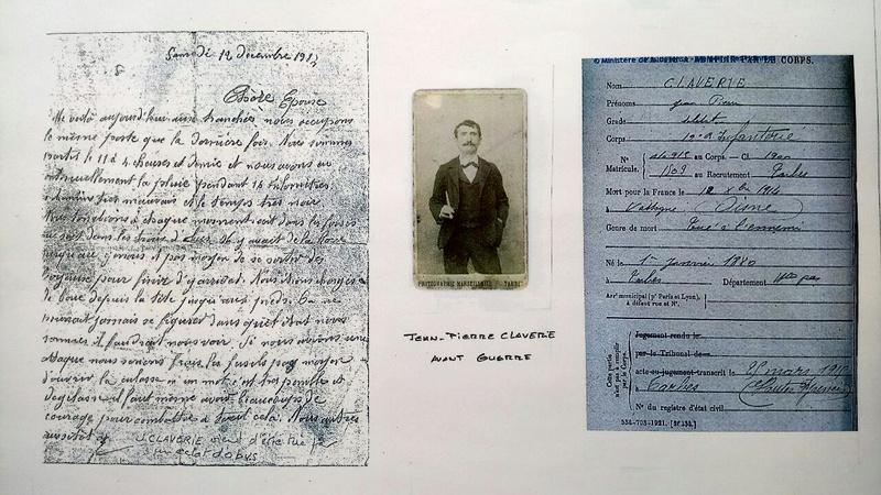 Lettres de Poilu  - Page 2 Claver11