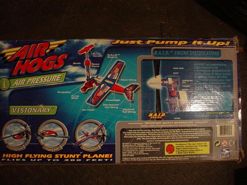 """Air Hogs.. """"Visionary"""" Dsc04411"""