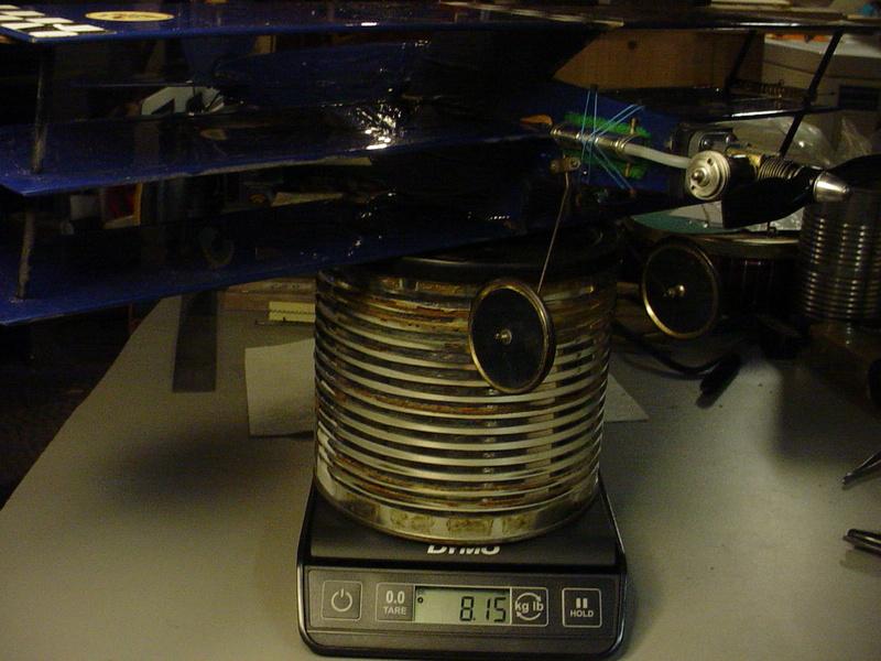 Roddie's Cox-powered triplane Dsc04446