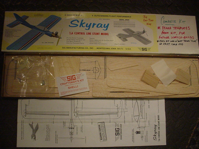 Ordered a 1/2A Skyray kit My_kit10