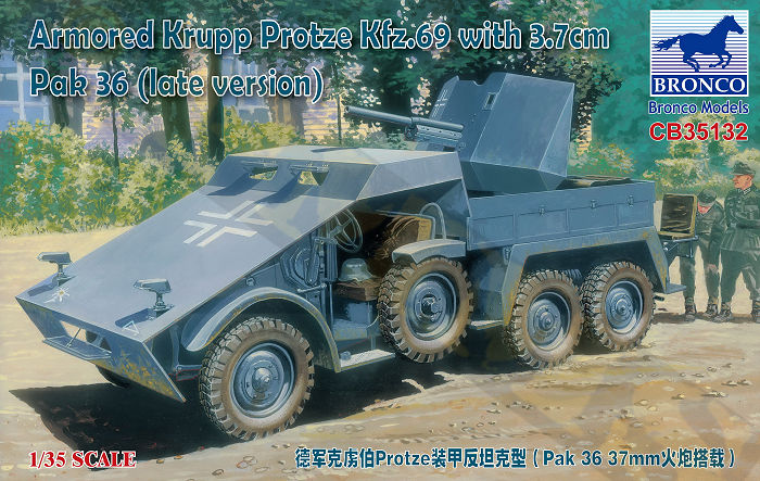 Krupp 'Protze' Tamiya 1/35 réf 35317 Bronco14