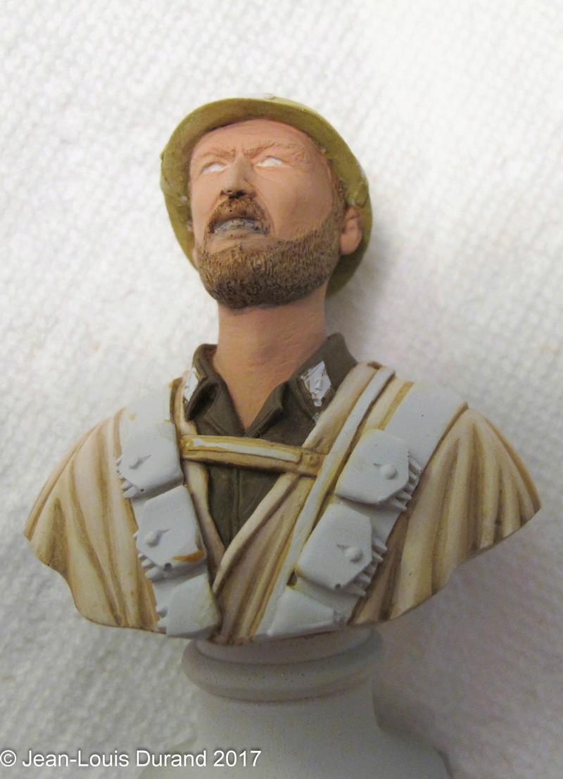Spahi du 1er Régiment de Spahis Marocains - 1940 - Buste Dream Catcher (ref SCB07) - 200mm - Acryliques Img_9112