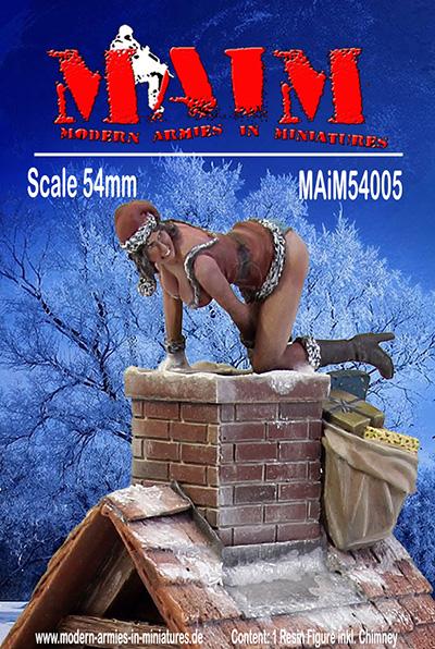 La femme du Père-Noël - MAIM ref 54005- 54mm - Acryliqes et huiles Maim_510