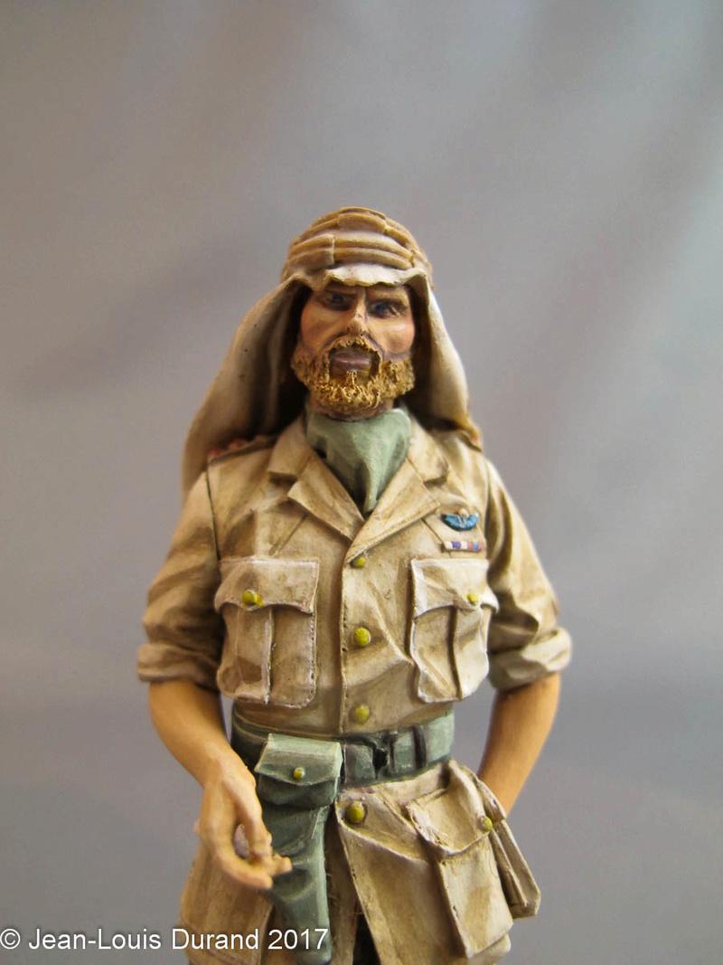 TERMINE - Officier SAS, Le Caire 1942 - YOUNG MINIATURES - 90mm - Acryliques Sas_1917