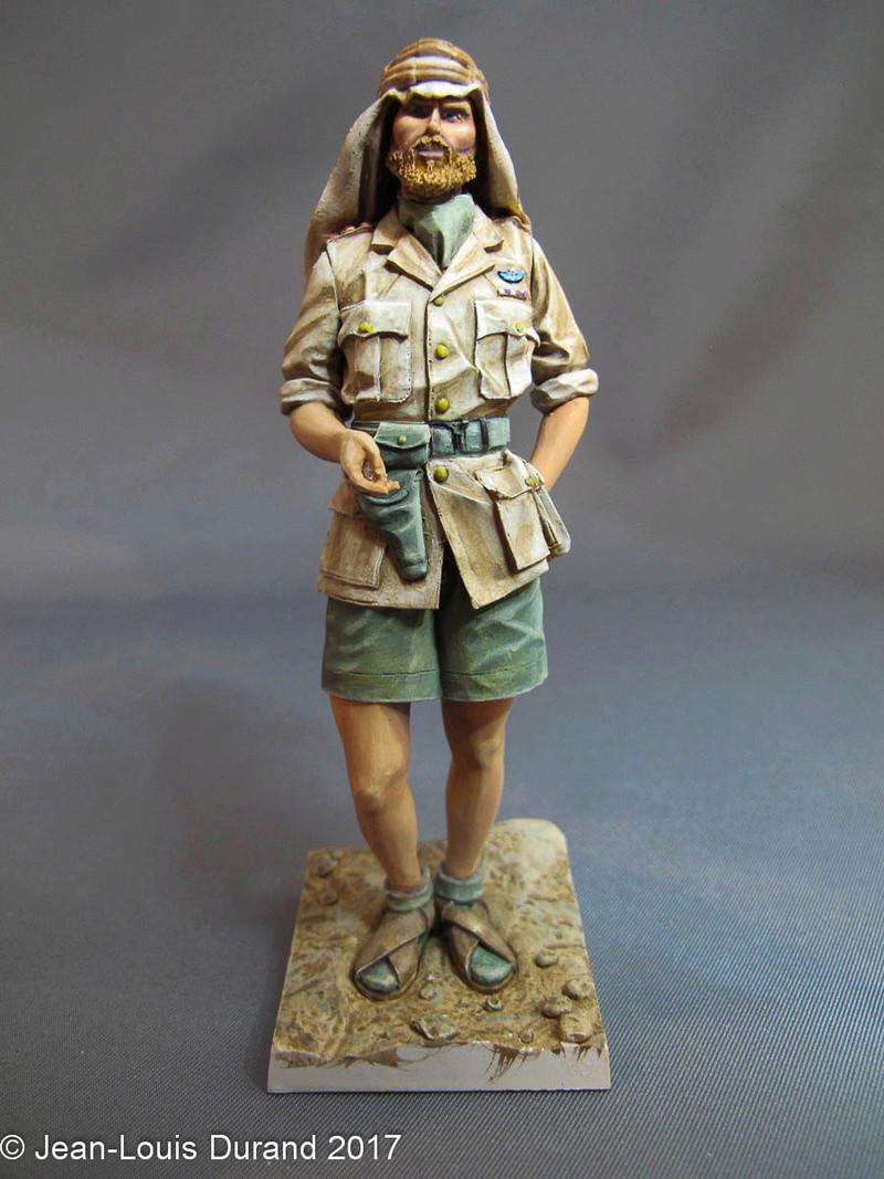TERMINE - Officier SAS, Le Caire 1942 - YOUNG MINIATURES - 90mm - Acryliques Sas_1918