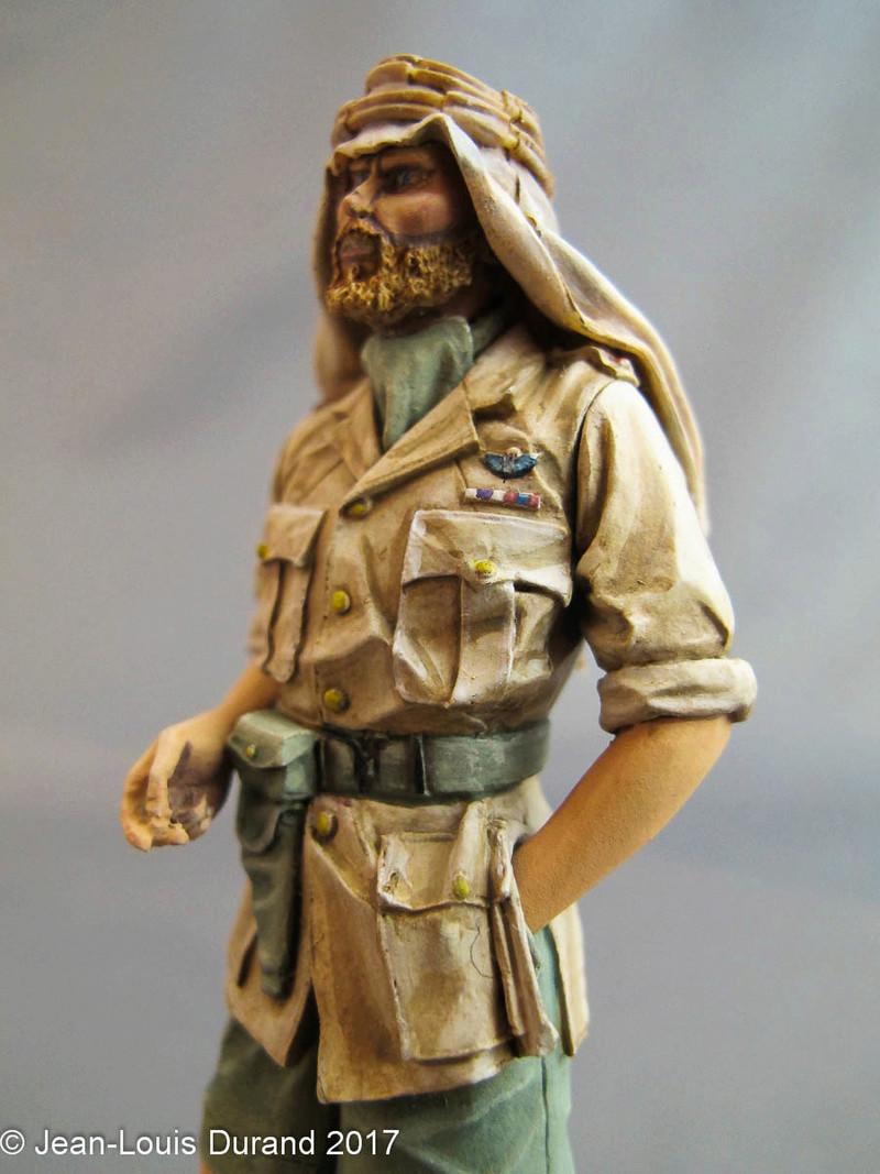 TERMINE - Officier SAS, Le Caire 1942 - YOUNG MINIATURES - 90mm - Acryliques Sas_1919