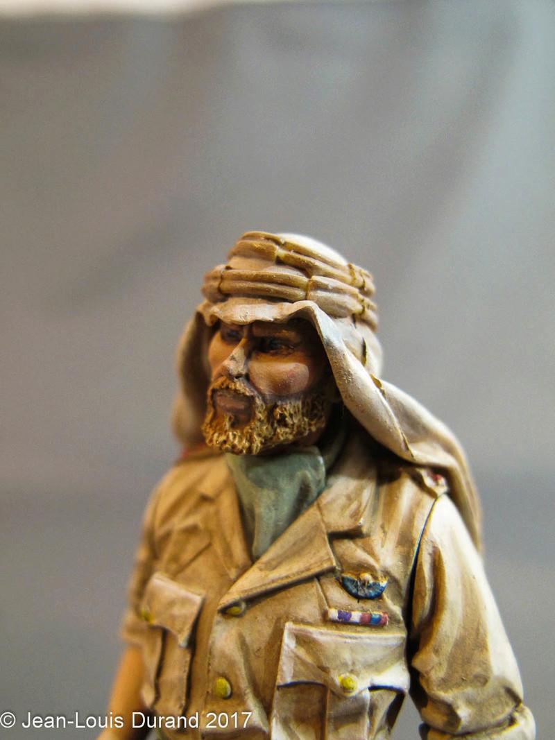 TERMINE - Officier SAS, Le Caire 1942 - YOUNG MINIATURES - 90mm - Acryliques Sas_1920