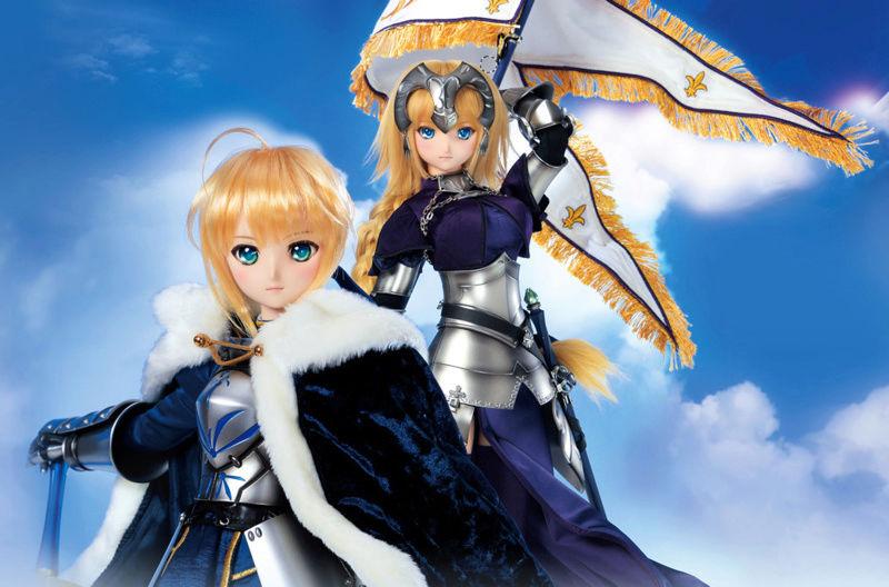 [Dollfie Dream] Fate Grand Order - Saber Altria Pendragon & Ruler Jeanne D'Arc Fate10