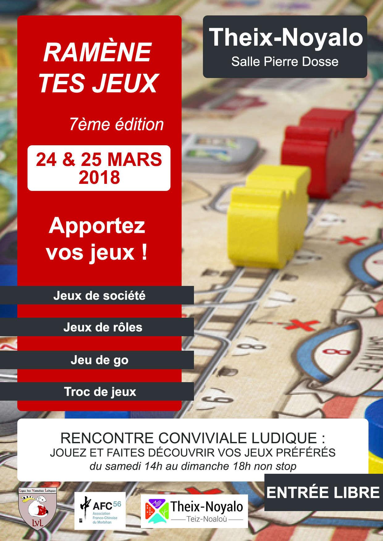 Festival Ramène tes Jeux, 24-25 mars 2018 à Theix-Noyalo (près de Vannes) Ramene10