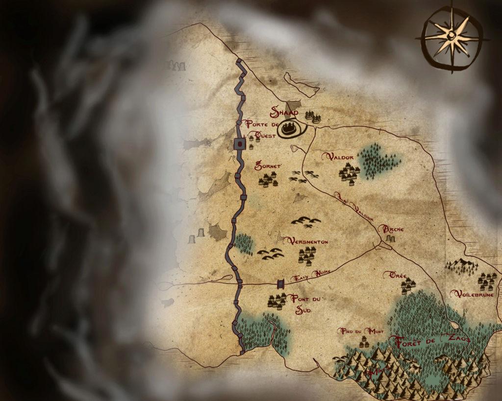 Carte du Domaine de Soriel Domain12