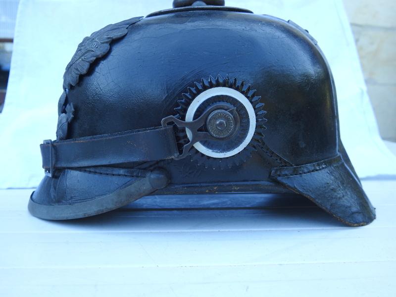 Casque prussien modèle 1915 pointe amovible Dscn3226