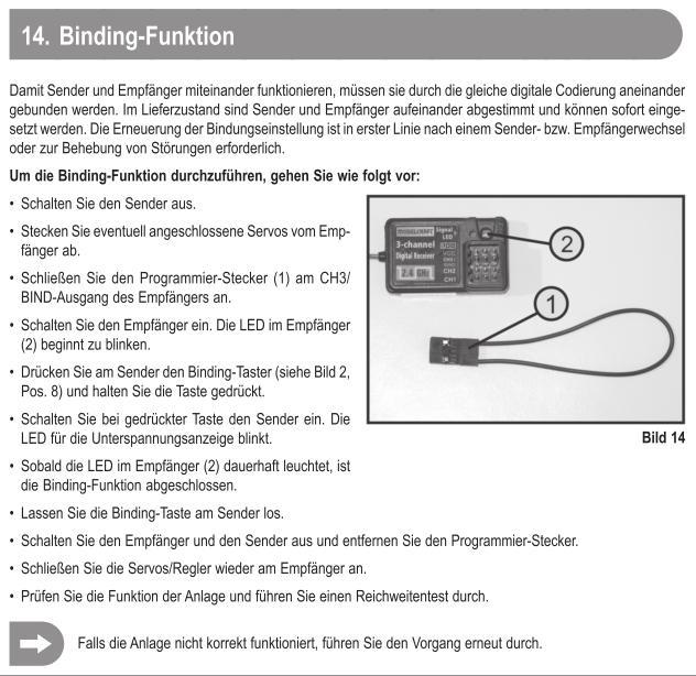 Modellcraft Gt4 Fernsteuerung mit gt2 Empfänger? Maapuu10
