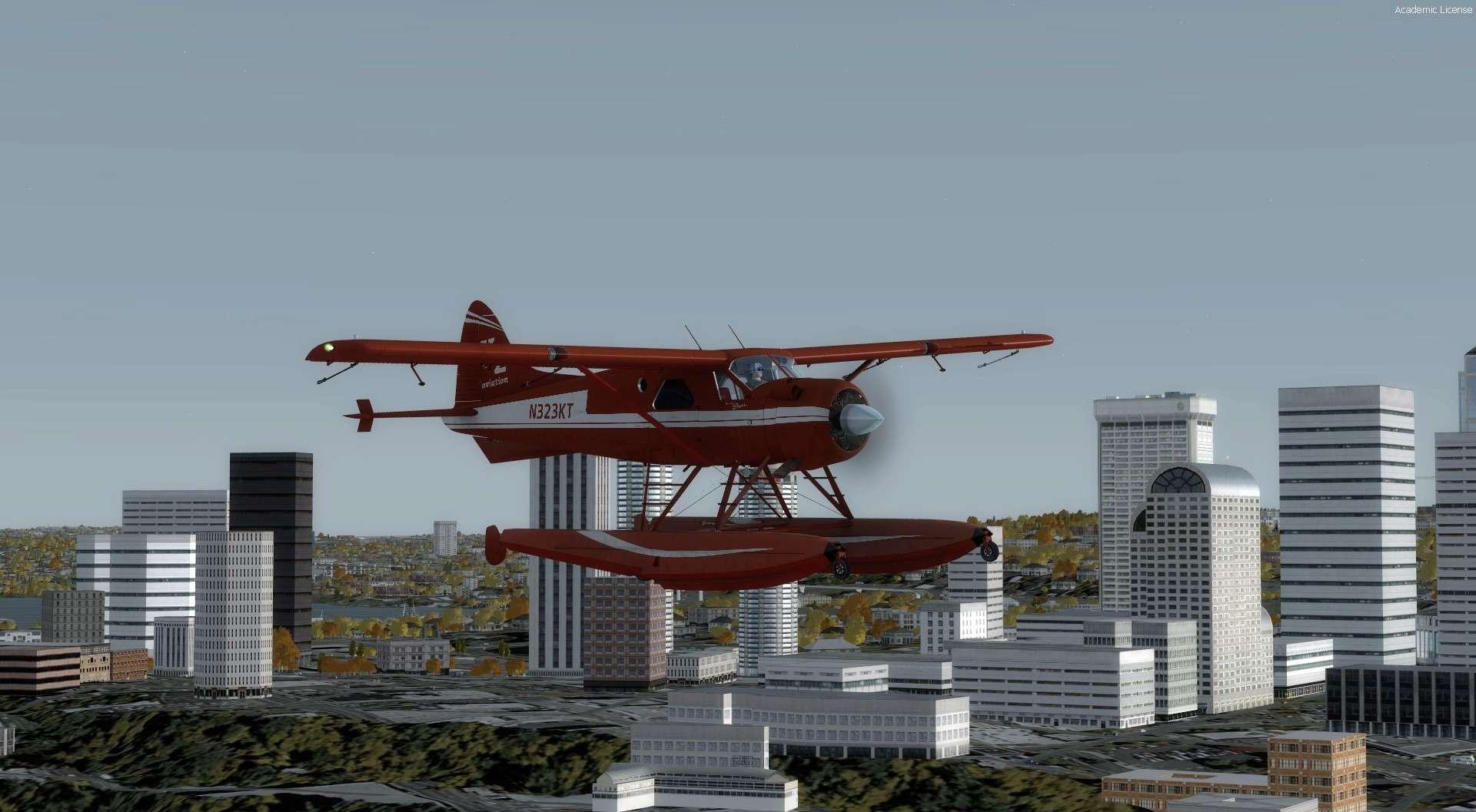 Compte rendu du vol Kenmore Air Harbor (W55) à Kenmore Air Harbor (W55) 2017-110