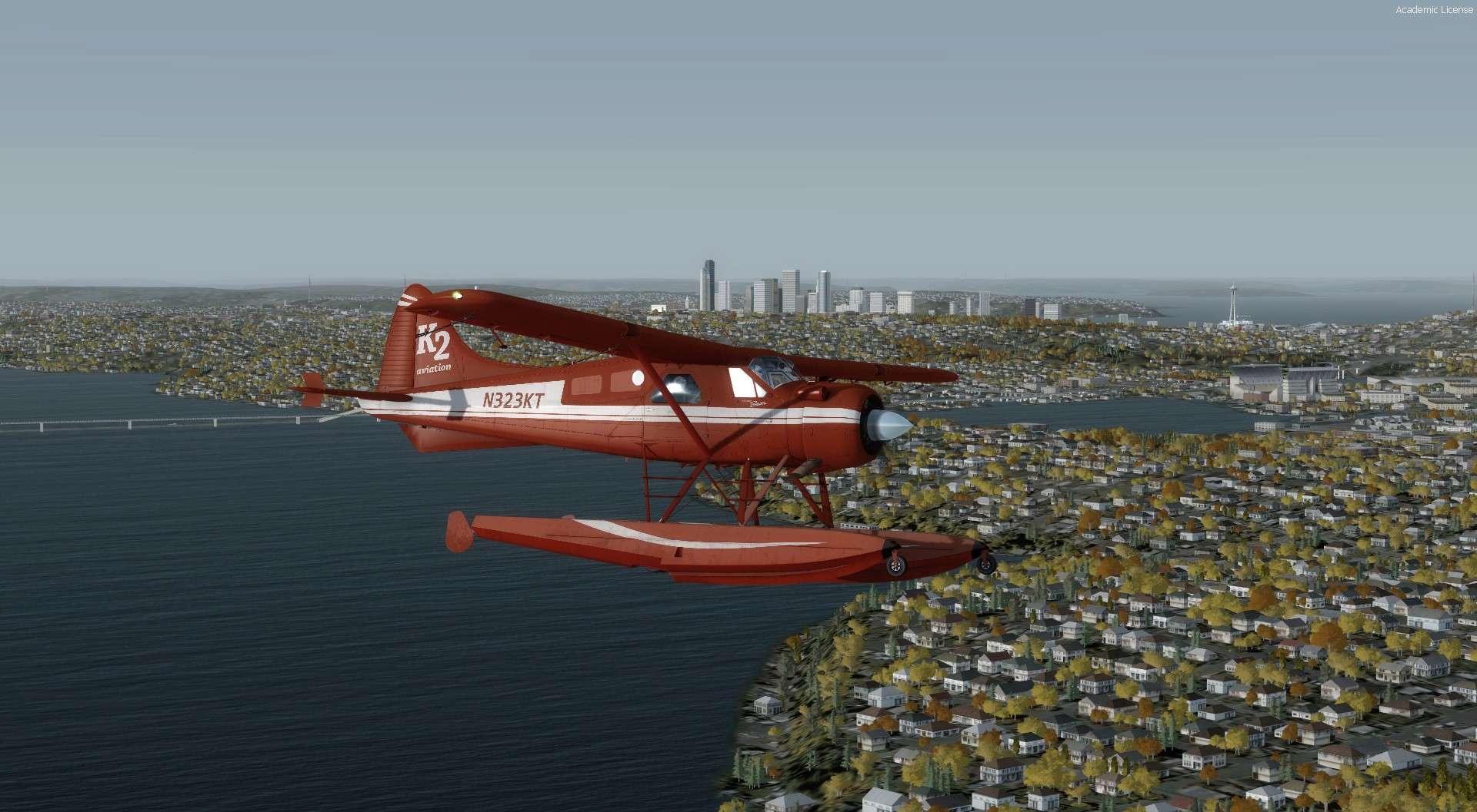 Compte rendu du vol Kenmore Air Harbor (W55) à Kenmore Air Harbor (W55) 2017-115