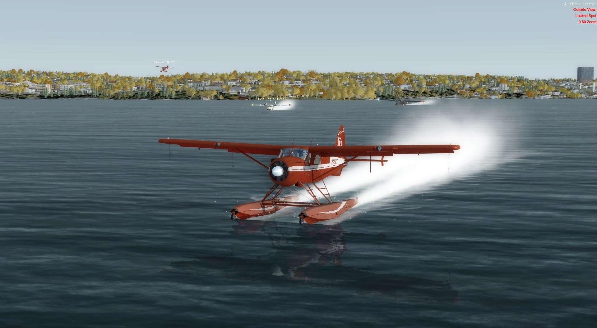 Compte rendu du vol Kenmore Air Harbor (W55) à Kenmore Air Harbor (W55) 2017-118