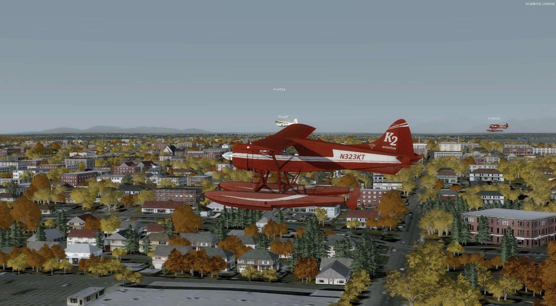 Compte rendu du vol Kenmore Air Harbor (W55) à Kenmore Air Harbor (W55) 2017-121