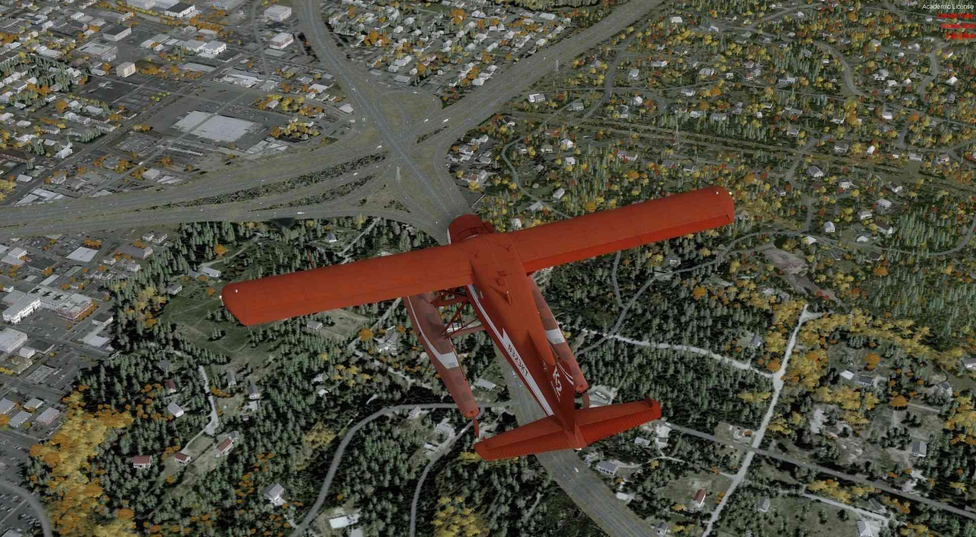 Compte rendu du vol Kenmore Air Harbor (W55) à Kenmore Air Harbor (W55) 2017-123