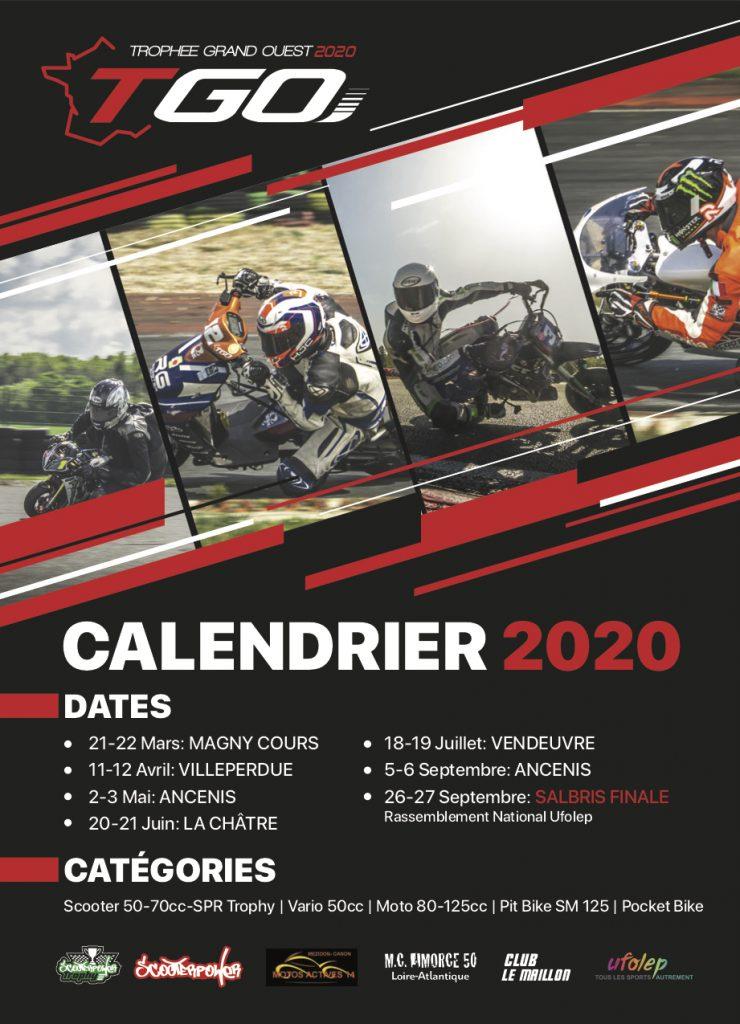 Trophée Grand Ouest 2020 - Ancenis (44) - Venez soutenir Fabrice aux deux épreuves du Mc Amorce 50 cm3 Calend10