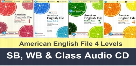 [Series] American English File Levels 1,2,3,4 0269