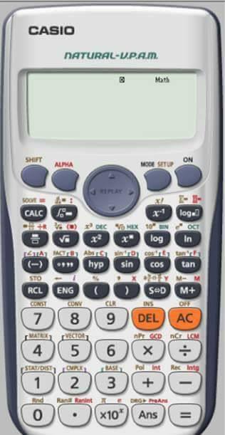 تحمل برنامج الالة الحاسبة Casio fx-570 لاجهزة الحاسوب 2115