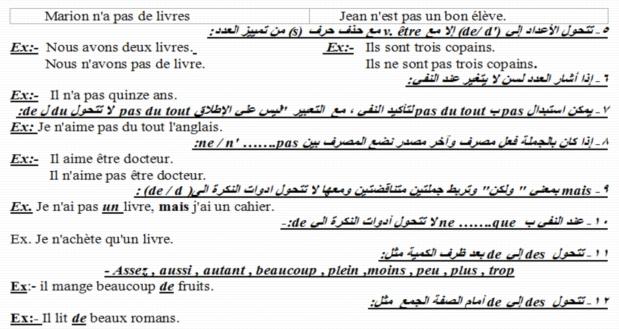 اقوى مذكرة لغة فرنسية للثانوية العامة 2018.. 62 ورقة وورد مسيو حسام ابو المجد 917