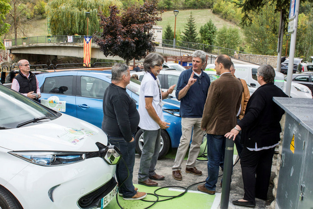 Aller au Rallye Pyrénées Reveo Electric Tour (Résolu) Inaugu10
