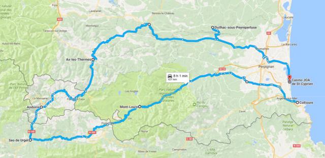 Aller au Rallye Pyrénées Reveo Electric Tour (Résolu) Parcou11