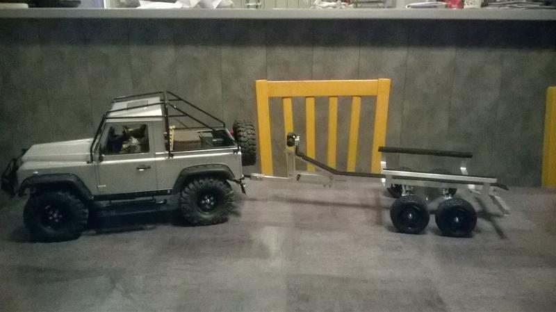 HG P402  Defender 90 pickup + remorque  - Page 7 Wp_20116