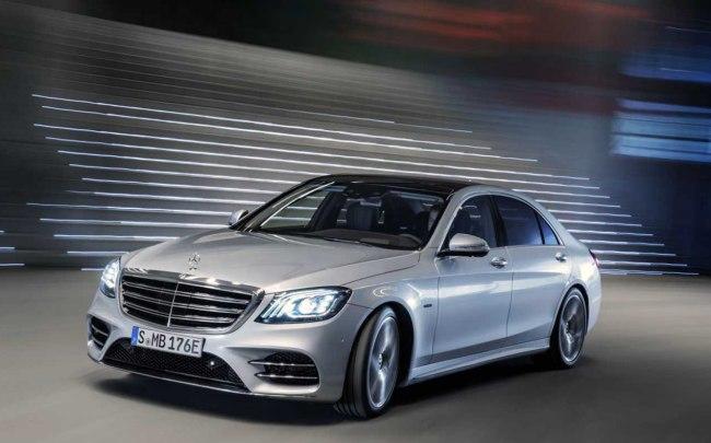 Mercedes: híbrido para Classe S, hidrogênio para GLC Merced19