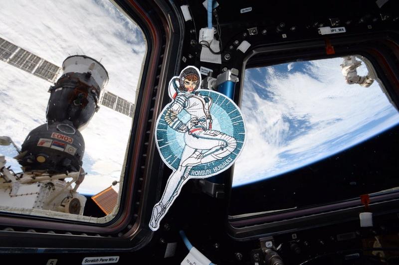 Thomas Pesquet - Astronaute français Ecusso10
