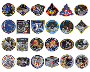 Les badges commemoratifs AB Emblems APOLLO Tim_ga10