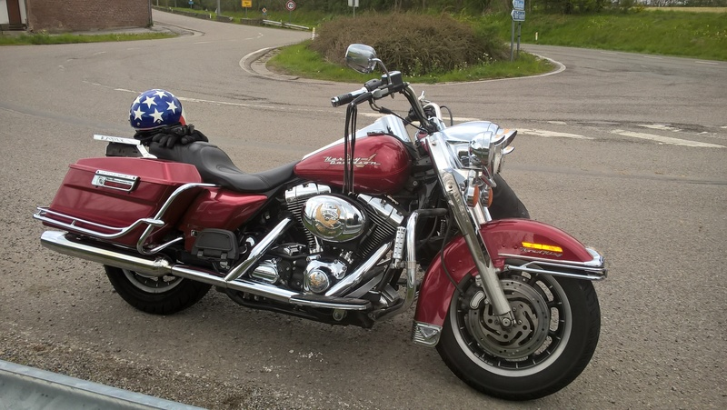 Road king 2004 rouge 36.000 km 1450cc (Vendu) Wp_20110