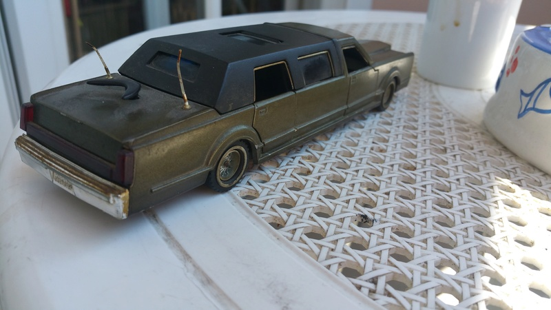 N°3045  Lincoln stretch limousine  20170810