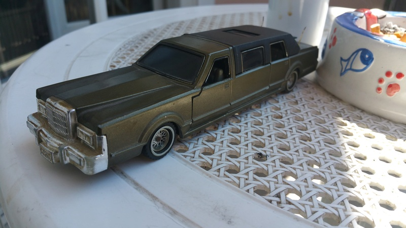 N°3045  Lincoln stretch limousine  20170811