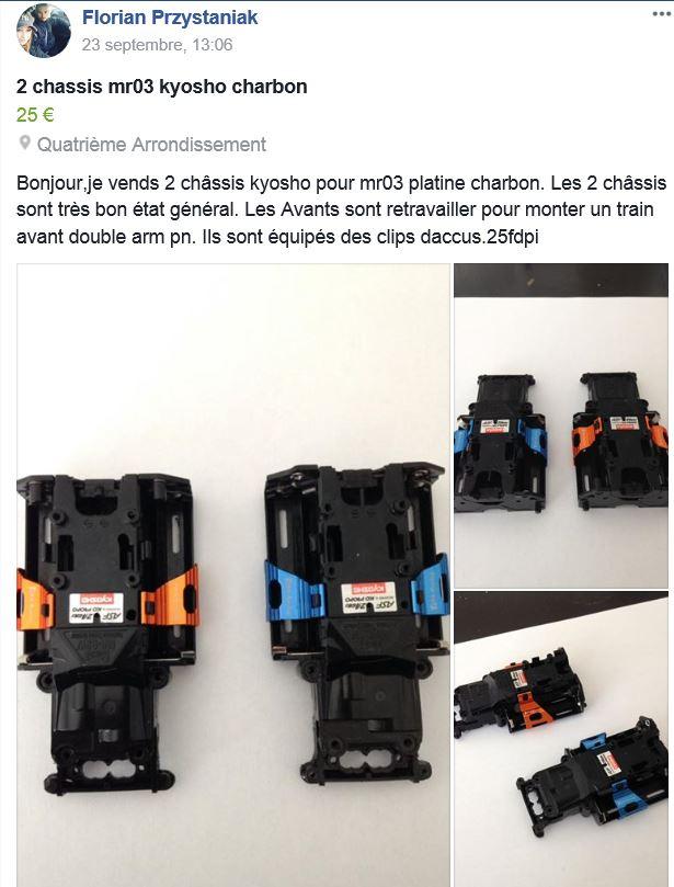 [trouvé] RECHERCHE pour MR03 languettes pour accus ou châssis HS Chassi10