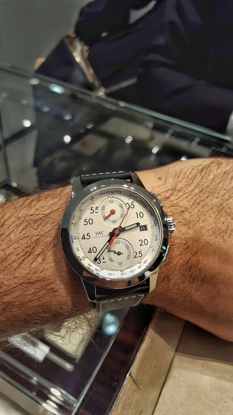 News: IWC Ingenieur Chronographe 50th Anniversary Mercedes AMG 20171023
