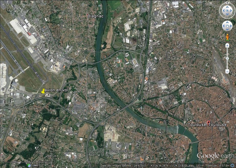 Avion  en VOL  vue Street View Aero_t10
