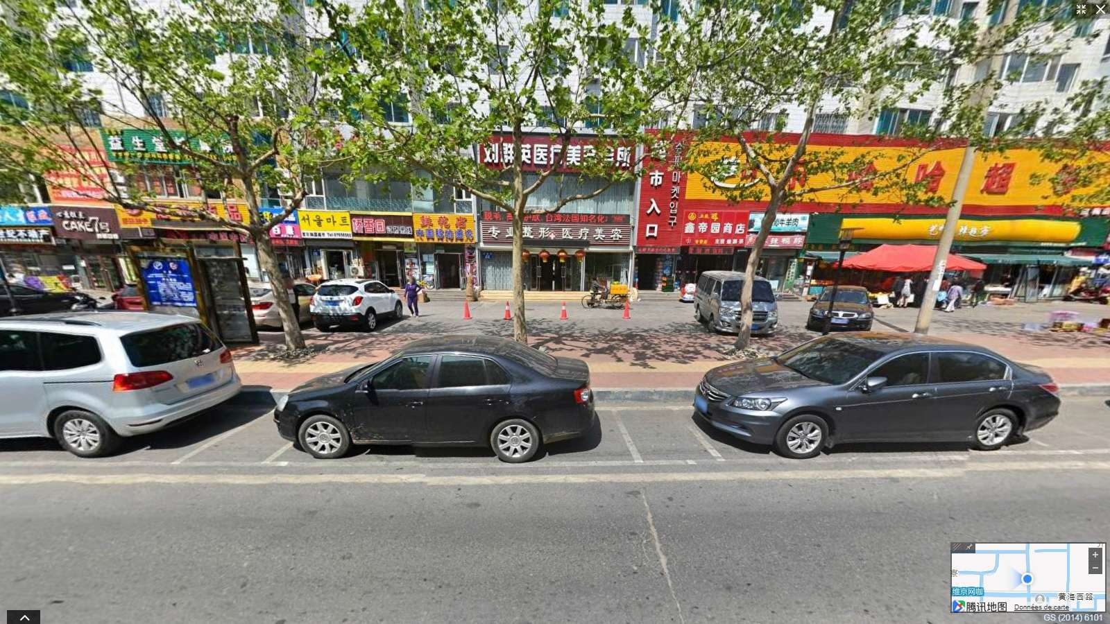 Exraire une image STREET ViEW  Google Maps ( sans surcharge d'info) avec Chrome Jj_27010