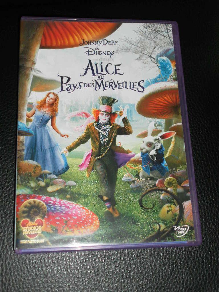 [Recherche - Vente] Le Coin des Blu-ray et DVD Disney !  (TOPIC UNIQUE) - Page 13 Alice_10