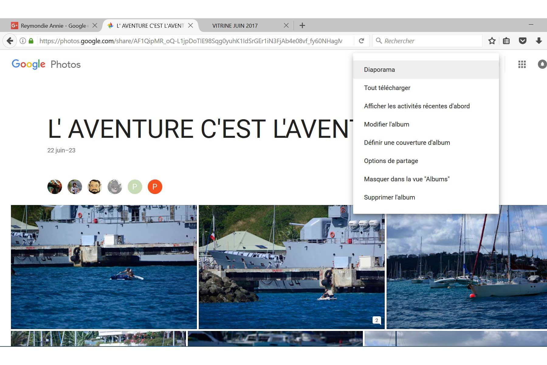 VITRINE JUIN 2017 Google10