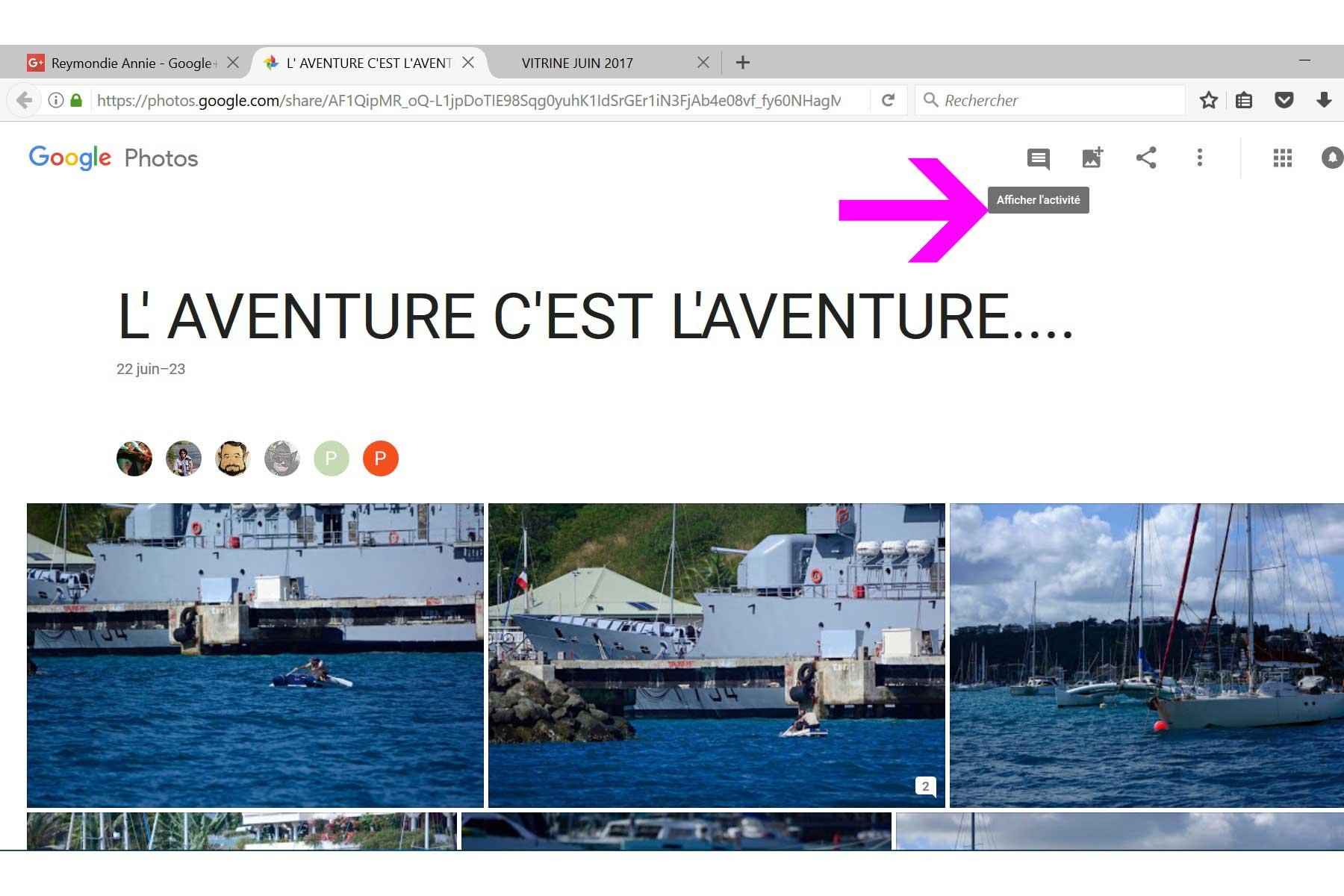 VITRINE JUIN 2017 Google12